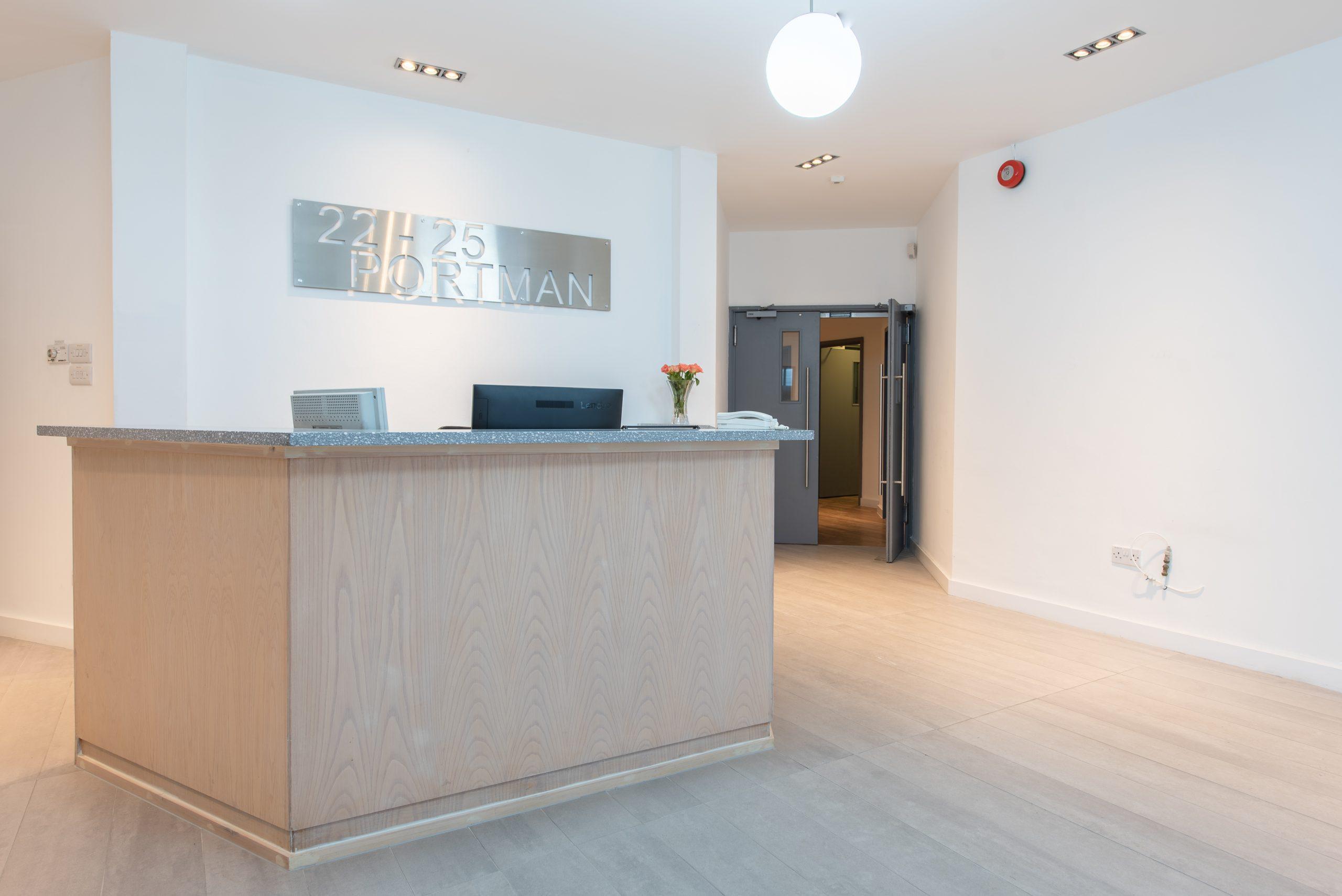 Marylebone serviced office